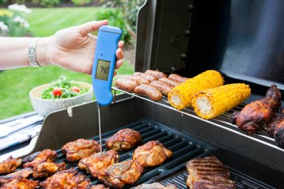 Thermapen and chicken thighs