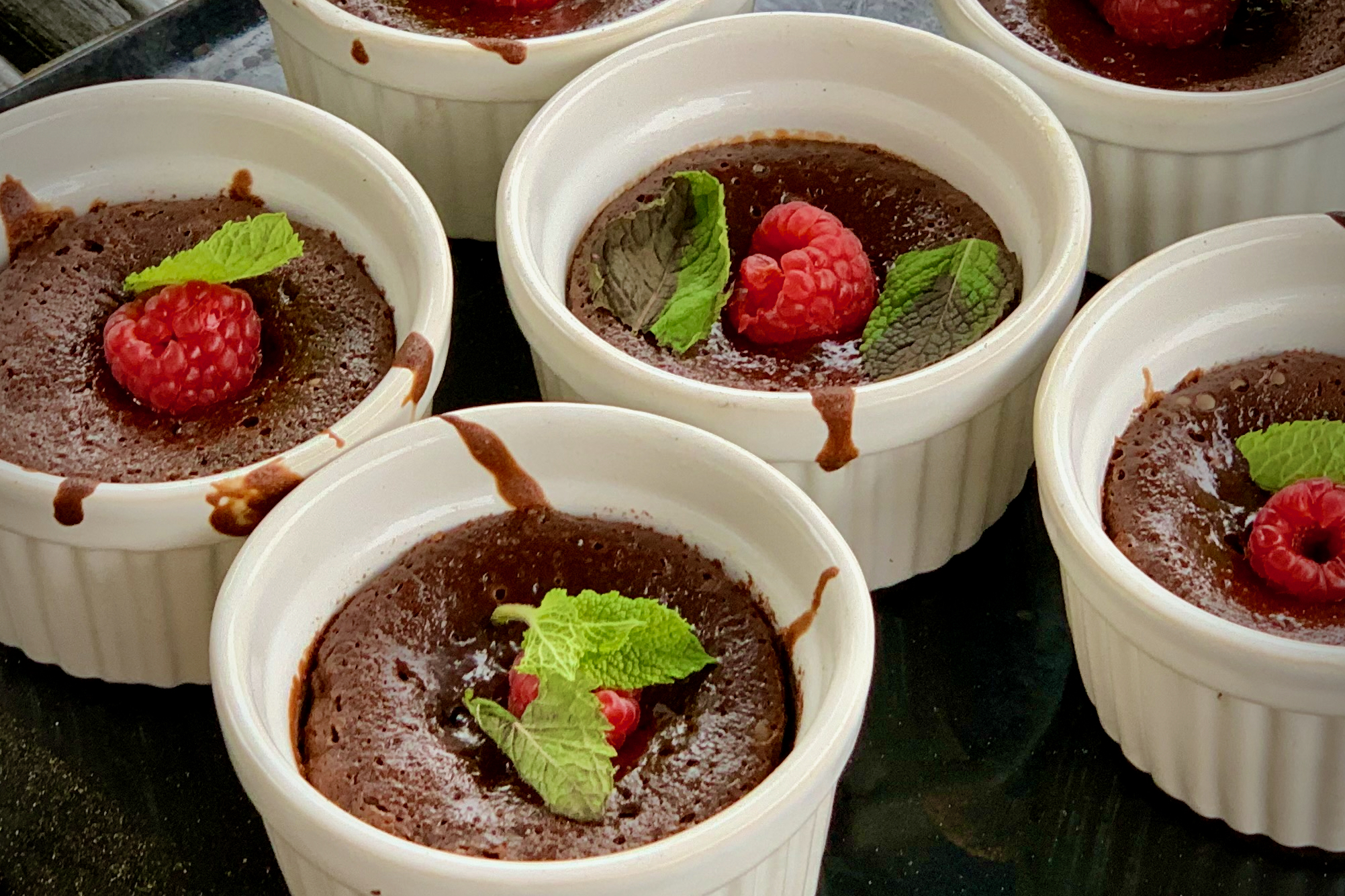 Gooey Chocolate Pudding