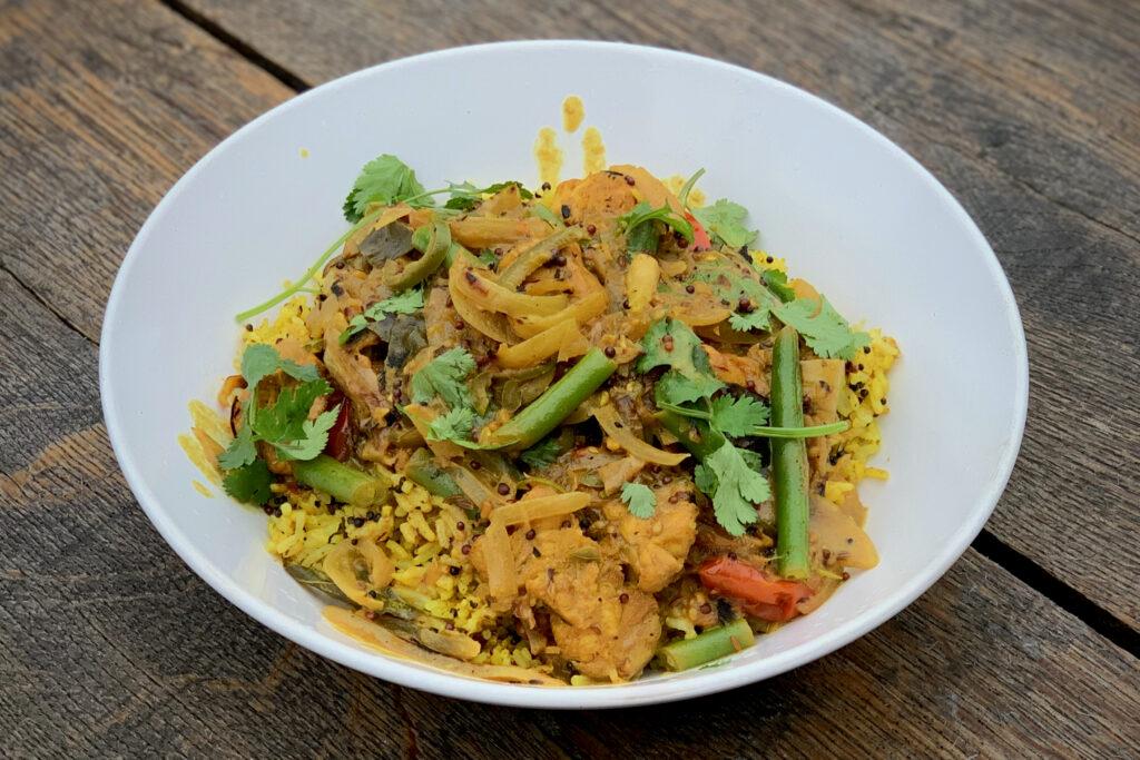 Sri Lankan Monkfish Curry